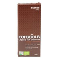 Conscious Organic Raw Chocolate Intense 70% 50g